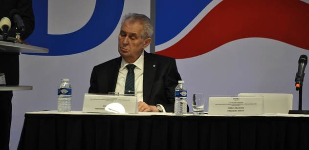 Zeman se v Lánech setká s dalšími kandidáty na ministry
