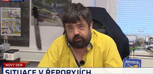Mirka Němcová se vyděsí ještě více. Pustil se do ní ve vlastní straně Řeporyjec Novotný