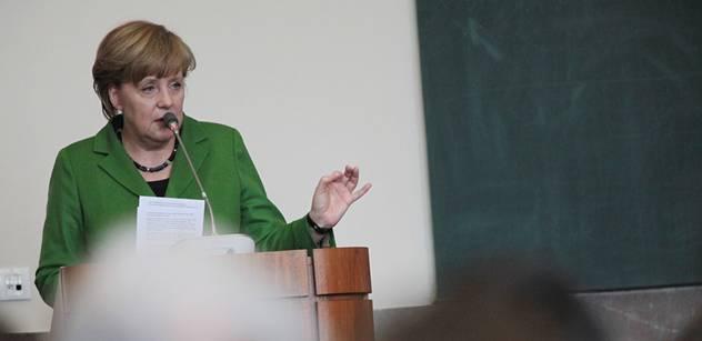 Merkel slíbila pomoct východu Ukrajiny. Z Německa potečou stamiliony eur