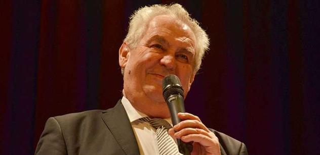 Šlápl Miloš Zeman do ... ? Jeho výrok o postižených dětech vyvolává vlnu pobouření