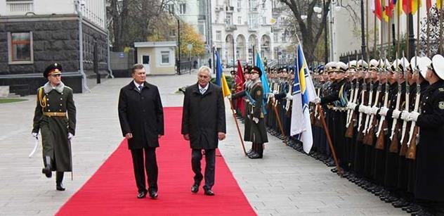 Zeman podpořil partnerství Ukrajiny s EU