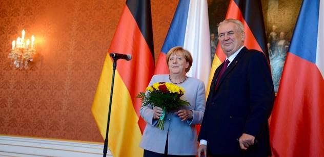 Chovanec prý zatáhl Angelu Merkelovou do svých kšeftů. Komentátor objevil zajímavé detaily o autě, které ji vozilo po Praze