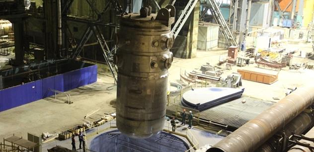 Ruský Atommaš obnovil výrobu pro jadernou energetiku