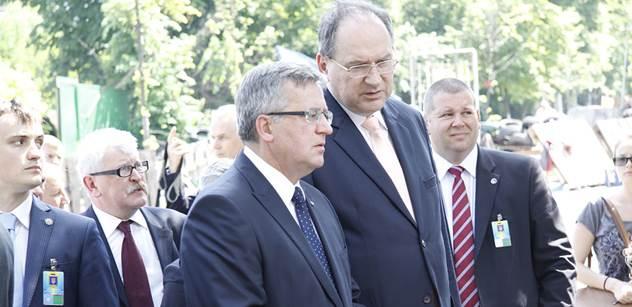 Polský prezident v ČT vysvětlil, proč se jeho země tolik angažuje v otázce Ukrajiny