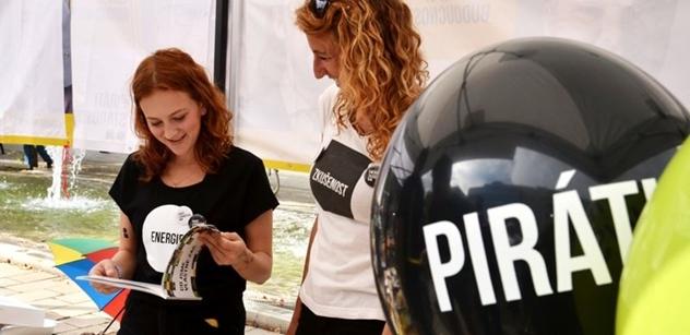 Piráti slibují: Zastavíme odliv zisků i plýtvání