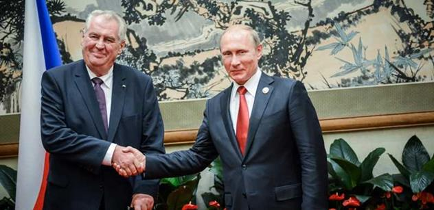 Schůzka české a ruské hlavy státu má dozvuky: Putin chce Zemana zneužít. Ne, to my se chováme jako jejich nepřátelé