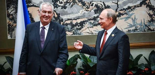 Zeman je zcela mimo náš civilizační okruh. Podepsal smlouvu s ruským ďáblem. Putin chce rozpoutat konflikt, aby překryl vlastní problémy. Hovoří lídr TOP 09, který chtěl vyhošťovat ruské umělce