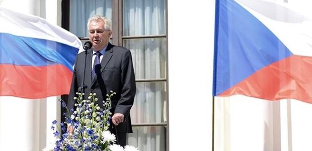 Prezident Zeman: Hrozí nová válka vedená nenávistí, sjednoťme se proti společnému nepříteli