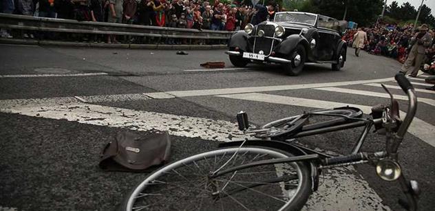 Politici a veřejnost uctili památku parašutistů, kteří před 75 lety spáchali atentát na Heydricha