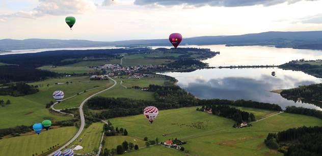 Turistický spolek Lipenska: Balonové létání zakončilo letní sezónu
