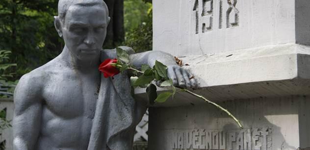 Pomník Koněva posprejovali vandalové. Pojďme se ale podívat, jak se k pomníkům československých vojáků chovají v Rusku