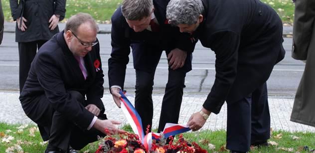 Praha 5: Vzpomínková akce ke dni válečných veteránů a obětí válek