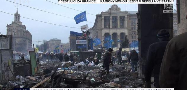 Výročí upálení odpůrců Majdanu v Oděse. A ČT nasadila dojímavou vzpomínku Jakuba Szántó. Jen pro silné povahy