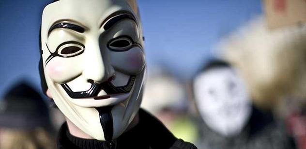 Tajemní Anonymous se ozvali: Až přijde revoluce, buďte připraveni