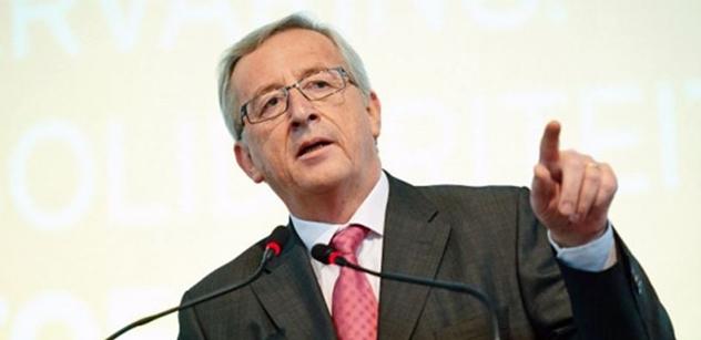 Dejte do EU více peněz, natahuje k nám ruku Juncker. A toto se stalo, nečekané