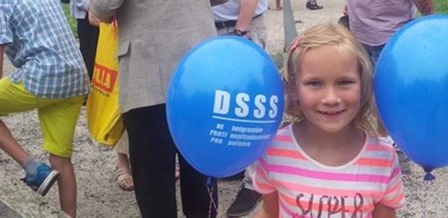 Dělnická strana sociální spravedlnosti (DSSS) a  Národní socialisté – LEV 21 oslavili prázdniny
