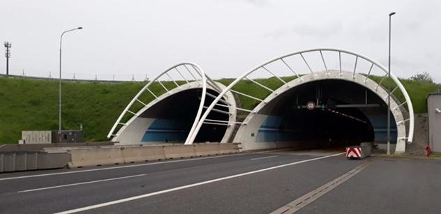 ŘSD zahajuje opravu částí tunelů Cholupice a Lochkov