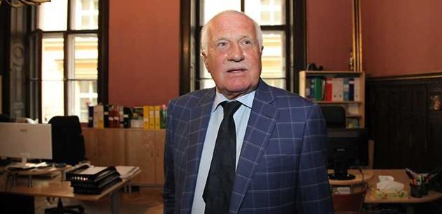 Klaus hovořil o Ukrajině: Československo jsme museli rozdělit rychle. Jinak by přišli lidé jako Albrightová a začali by nám radit