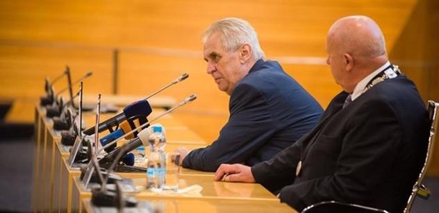 Miloš Zeman vyjasnil PL, jak to má s tím alkoholem. A dodal: Trump mě zklamal. Jourová ve vězení? A Kalousek...