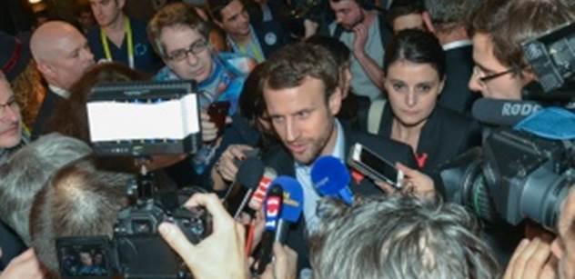 Unie musí Francii ochránit před levnou pracovní silou z východu, požaduje Macron. Ekonomka mu za to posměšně ocitovala z dokumentu EU