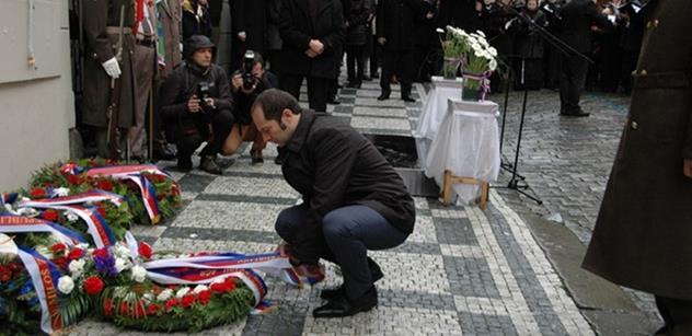 Náměstek Pavel Beran k výročí 17. 11.: Pouze slovy a mírovými pochody ještě nikdo v dějinách nezvítězil