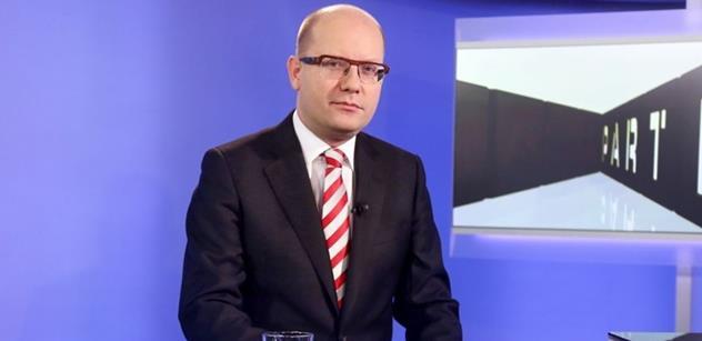 Předseda vlády Bohuslav Sobotka odletěl na návštěvu Moldavské republiky