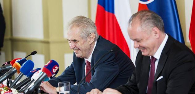 Miloš Zeman a Andrej Kiska dnes pojedou společně vlakem v Masarykově salónním vagonu