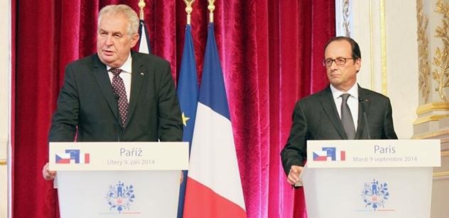 Hollande znovu oznámil, že nepřijede do Česka. Kvůli dalšímu teroristickému útoku