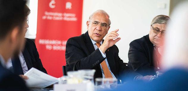 Generální tajemník OECD navštívil Technologickou agenturu ČR