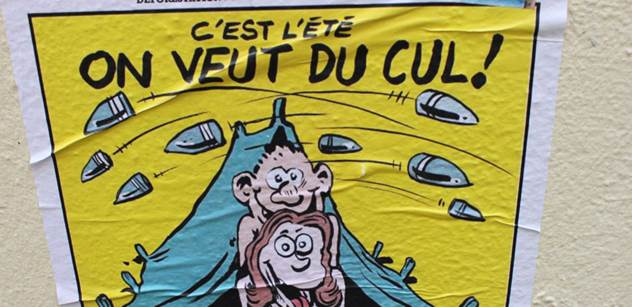 Charlie Hebdo si opět zahrává. Muslimové budou zuřit
