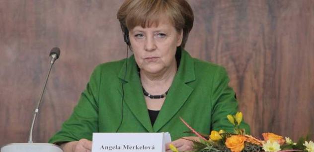 Paní Merkelová, máte problém. U vás v partaji