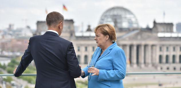 To jste slyšeli? Babiš řekl Merkelové něco neskutečného. Ta koukala! FOTO+VIDEO
