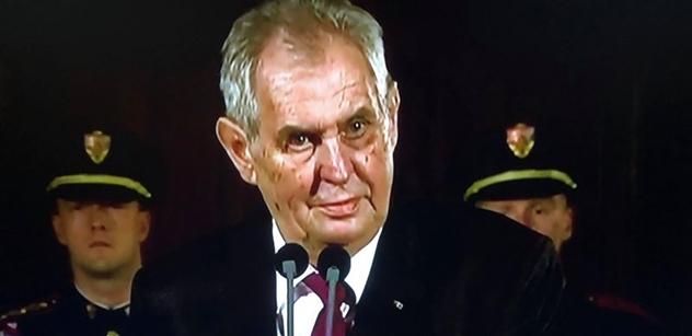 Jsem nesmírně zarmoucen... Prezident Zeman se vyjádřil k důlnímu neštěstí na Karvinsku