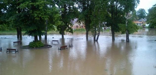 Středočeský kraj udělá kvůli povodním velkou revizi rozpočtu