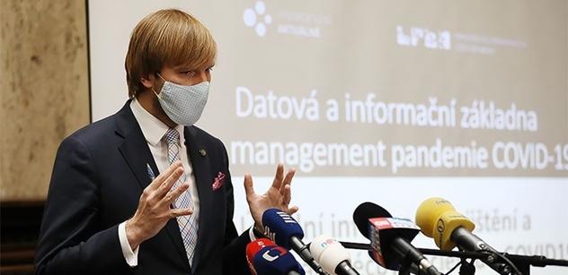 Ministr Vojtěch představí lokální opatření proti šíření covidu-19