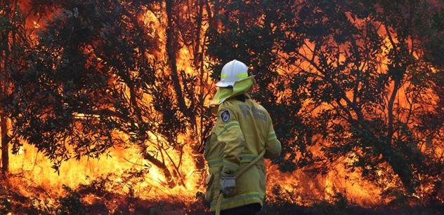Václav Kovalčík: Austrálii ničí požáry a bezohledný režim