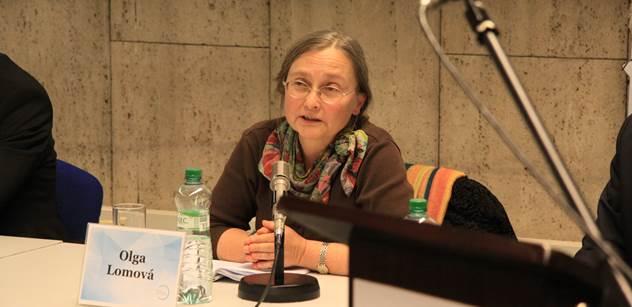 Výživná debata o zločinech Pekingu: Lidovec Bartošek a Olga Lomová, hlavní expertka na čínské zlo. Pokud vtrhnou na Tchaj-wan, bude to jako rok 1968