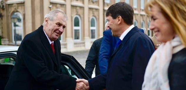 Zeman v Maďarsku: Zahnali jsme u Vídně muslimy, oni se vrací! Zvěrstvo z Francie, strašné
