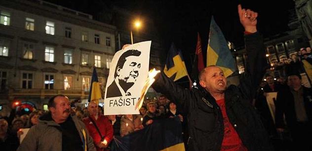 Já vám to říkal. Já jsem varoval, že Majdanem to neskončí, promluvil Viktor Janukovyč
