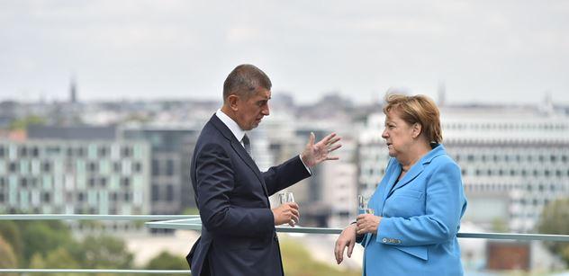Němci nenosí roušky, zlobil se Babiš. Pustili mu názor z Německa. Lapal po dechu a pak...