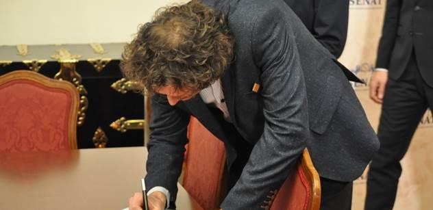 V Senátu odstartovala petice za ochranu samospráv. Byli jsme u toho