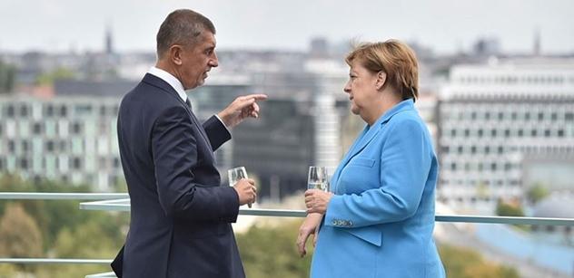 Česko navštíví Merkelová, sejde se s Babišem