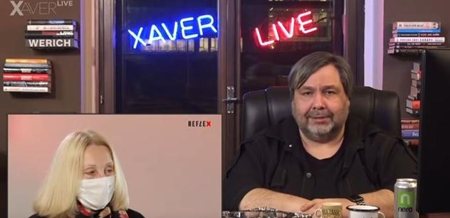 Xaver zjistil, co o něm veřejně řekla Sommerová. A je moc zle: Ty pavlačová drbno, lhářko, extremistko...