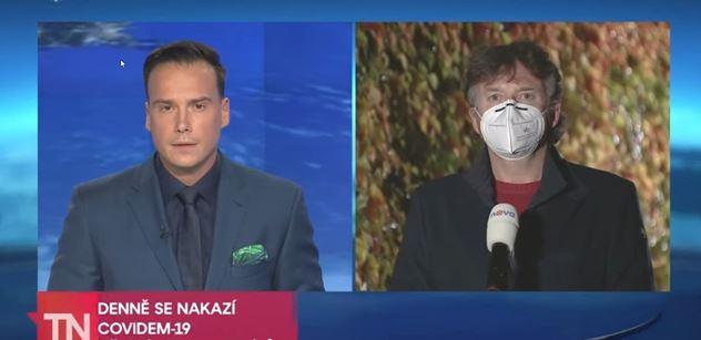 Železný, Moravec, blbec? Covidová bomba na TV Nova: Vážné věci se vyvalily