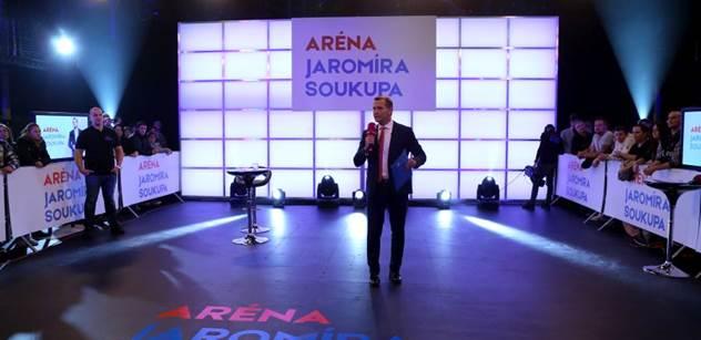TV Barrandov: Aréna Jaromíra Soukupa měla rekordní sledovanost