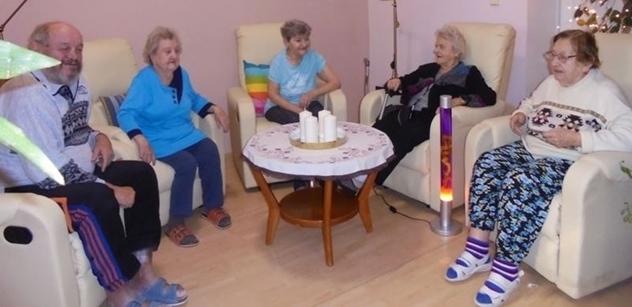 Praha 5: Léčivá síla prostředí v Domě sociálních služeb Na Neklance