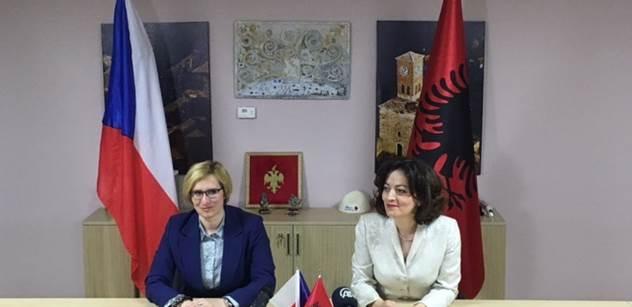 Ministryně Šlechtová: Albánie se po našem vzoru může stát konkurenceschopnou zemí