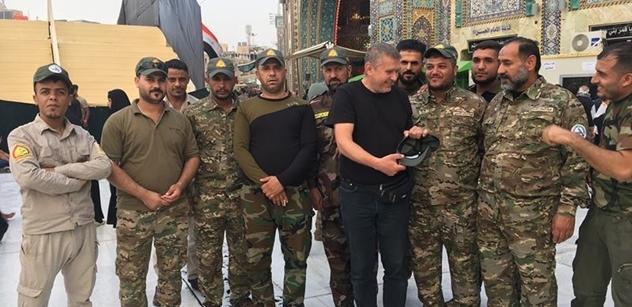 Iráčané Američany zcela otevřeně nazývají okupanty. Sulejmání je mučedník pro všechny Íránce. Arabista Pelikán má čerstvé zkušenosti ze země, kde opět hrozí válka