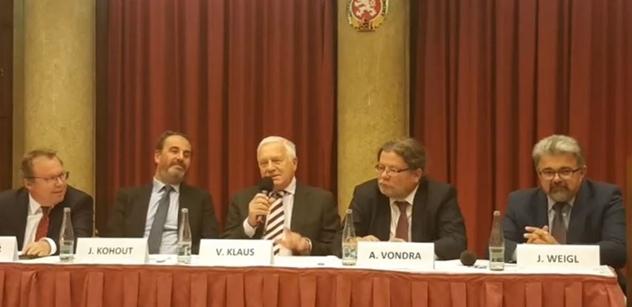 Václav Klaus st. přirovnal Tomáše Halíka k Reinhardu Heydrichovi