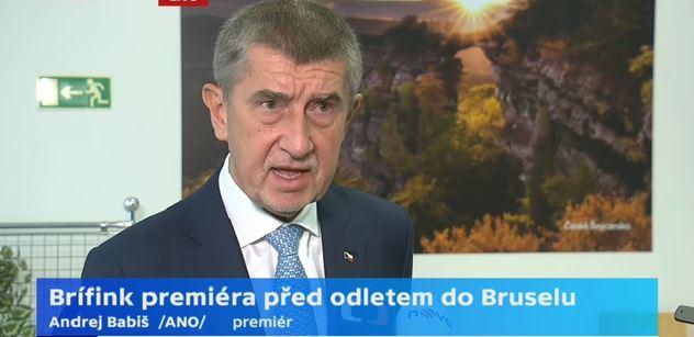 Premiér Babiš: Včera jsem byl navštívit svého syna Andreje